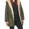 Levi's Women's Faux Fur Lined Hooded Parka Jacket