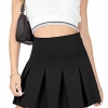 High Waisted Pleated Skirts for Women