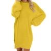Women Long Sleeve Sweater Knit Turtleneck