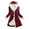 Cardigan Coat Knit Button Sweater Women Casual Woolen Coat
