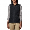 Black Columbia Women's Benton Springs Soft Fleece Vest, Black, X-Large