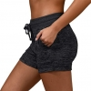 Activewear Lounge Shorts with Pockets and Drawstring for Women