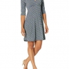 Lightweight Half Sleeve Fit and Flare Dress