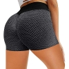 Fitness Yoga Pants, High Waist Jacquard Honeycomb