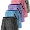Women's Quick Dry Heather Yoga Training Shorts