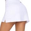 Women Active Athletic Skort Golf Skirt Lightweight Running