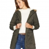 Women's Performance Sherpa Lined Midlength Parka Jacket